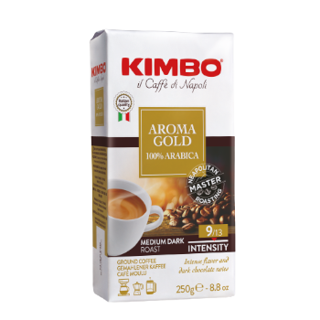KIMBO AROMA GOLD MACINATO 250g