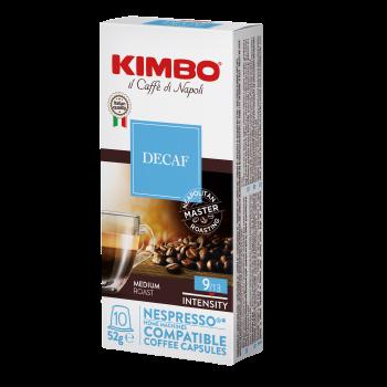 Kimbo NESPRESSO 10 capsule DECAF