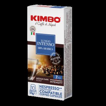 Kimbo NESPRESSO 10 capsule LUNGO INTENSO